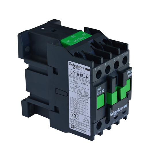 施耐德接触器LC1E18-N